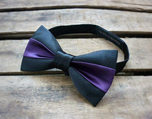 Load image into Gallery viewer, Two Tone Classic Bowtie