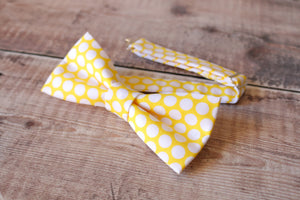 Yellow Polka-dot Bowtie.