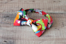 Load image into Gallery viewer, Parrot Print Bowtie.