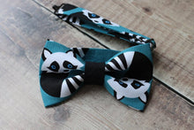 Load image into Gallery viewer, Raccoon Bowtie