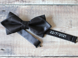Personalised Diamond Bowtie.
