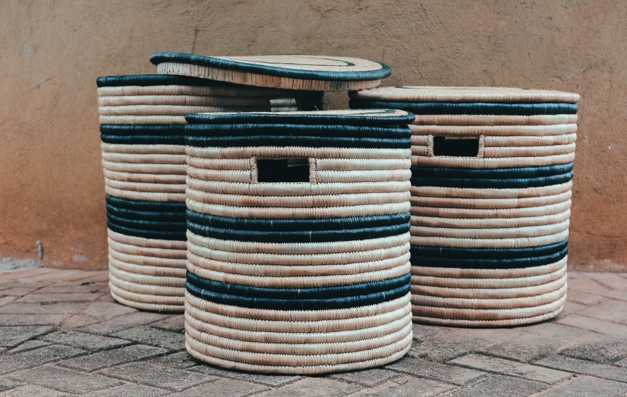 Closed Baskets - Set of 3