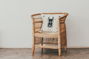 African Beetle Cushion