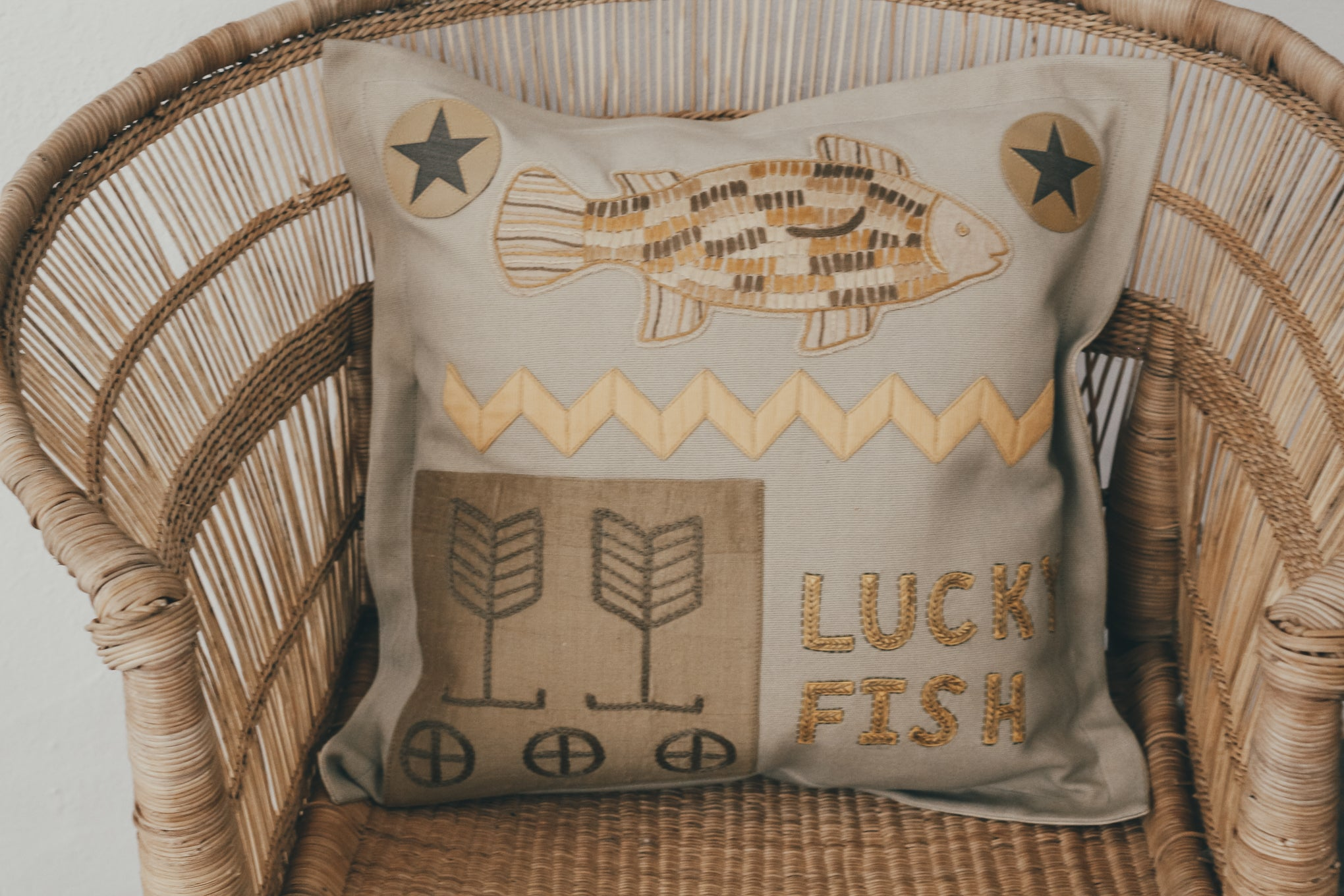 Lucky Fish Cushion