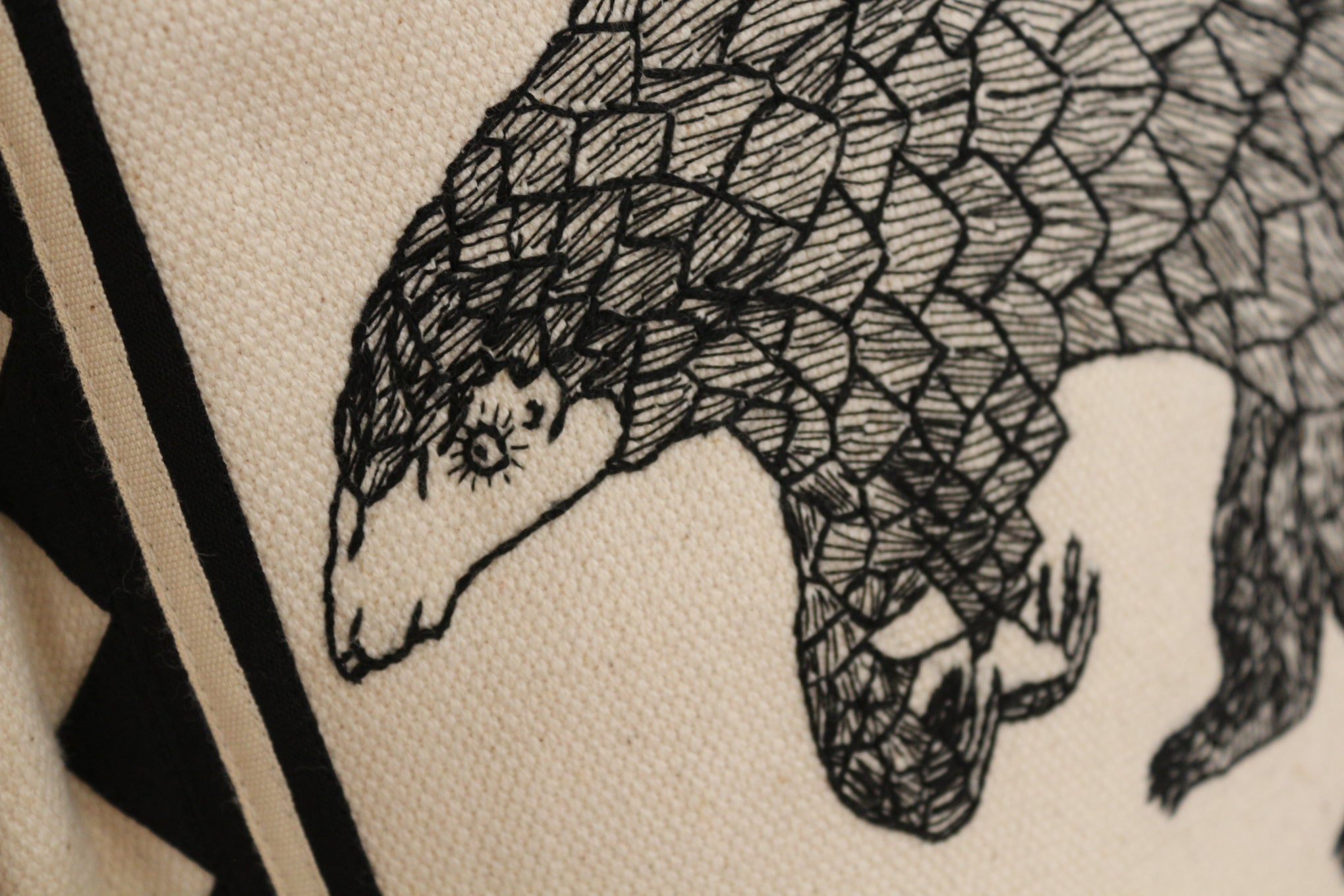 Pangolin Cushion