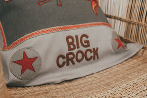 Big Croc Cushion