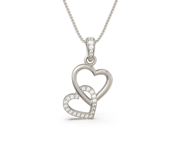 Heart Strings Pendant (With Chain)