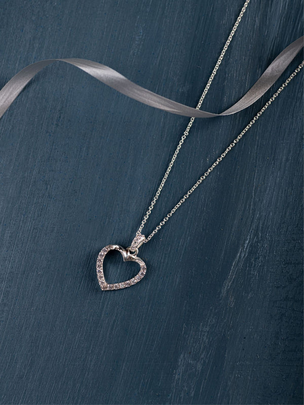 The Hollow Heart Necklace
