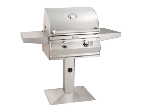 CHOICE (C430S) PATIO POST MOUNT GRILL By Fire Magic Grills - Ace home goods