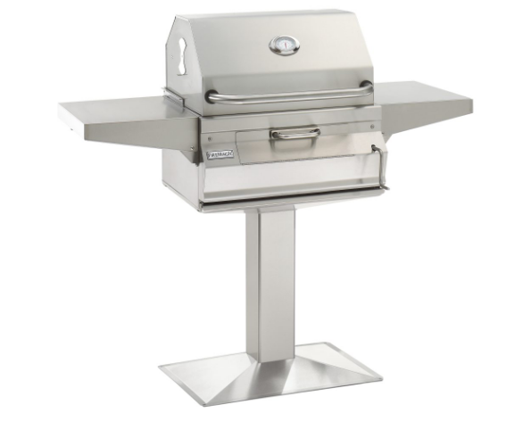 CHARCOAL PATIO POST MOUNT GRILL By Fire Magic Grills - Ace home goods