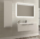 Aspe 40″ Glossy White Acrylic Bathroom Vanity By Casa Mare - Ace home goods