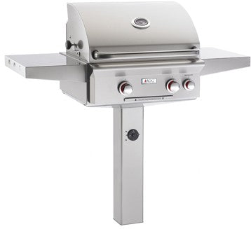"POST MODEL ""T"" Series Grill (24NGT) By American Outdoor Grill - Ace home goods"