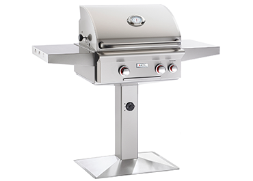 "POST MODEL ""T"" Series Grill (24NPT) By American Outdoor Grill - Ace home goods"