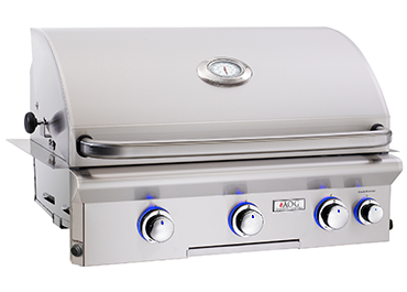 "BUILT-IN ""L"" Series Built-in Grills (24NBL) By American Outdoor Grill - Ace home goods"