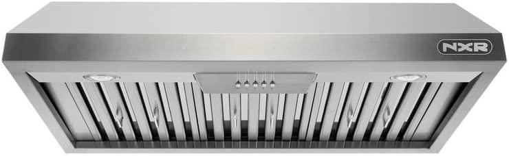 "48"" Pro-Style Under Cabinet Range Hood, Stainless Steel By NXR - Ace home goods"
