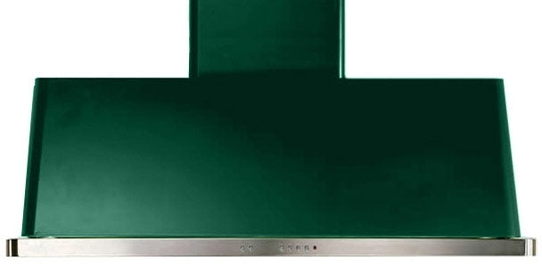 48 Inch Emerald Green Wall Mount Convertible Hood By ILVE - Ace home goods
