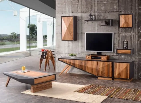 Zeta Modern TV Unit & Entertainment Set By Casa Mare - Ace home goods