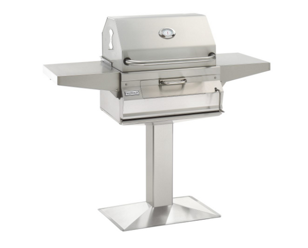 LEGACY CHARCOAL PATIO POST MOUNT GRILL By Fire Magic Grills - Ace home goods