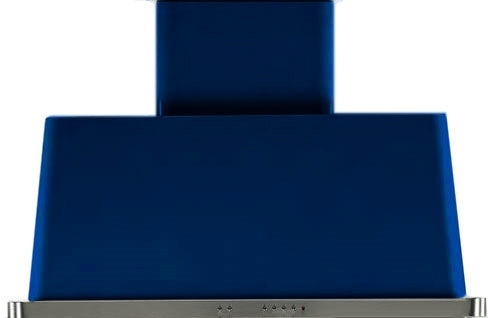 40 Inch Blue Wall Mount Convertible Hood By ILVE - Ace home goods