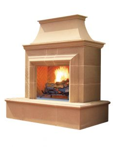 REDUCED CORDOVA Fireplace By American Fyre Designs - Ace home goods