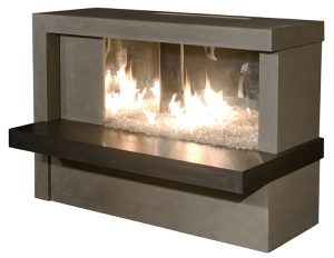 MANHATTAN Fireplace By American Fyre Designs - Ace home goods