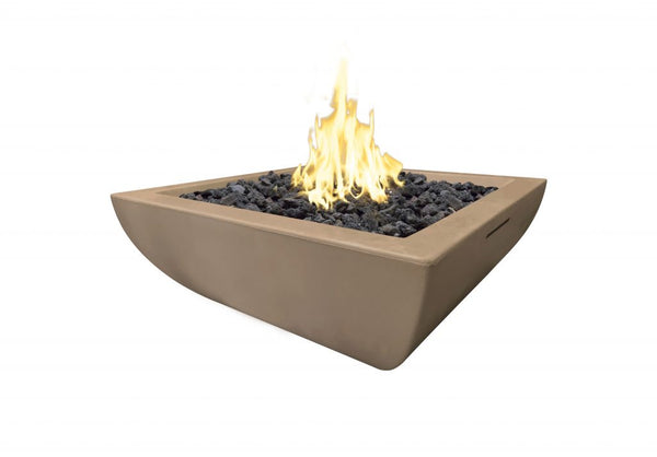30″ BORDEAUX PETITE SQUARE FIRE BOWL By American Fyre Designs - Ace home goods