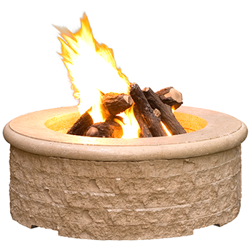 CHISELED FIRE PIT By American Fyre Designs - Ace home goods
