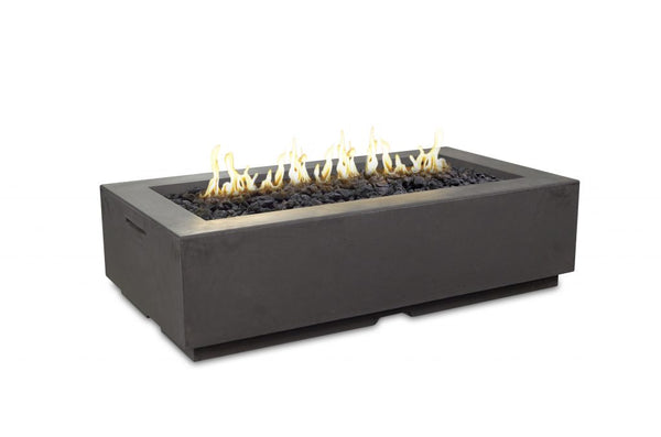 56″ X 30″ LOUVRE RECTANGLE FIRE PIT By American Fyre Designs - Ace home goods