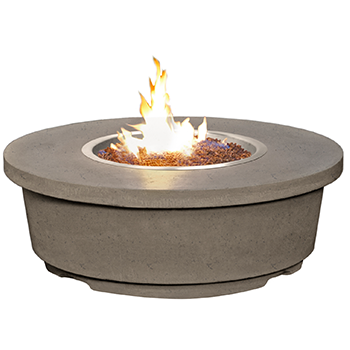 CONTEMPO ROUND FIRETABLE By American Fyre Designs - Ace home goods