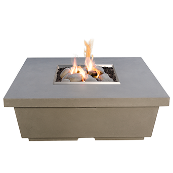 CONTEMPO SQUARE FIRETABLE By American Fyre Designs - Ace home goods