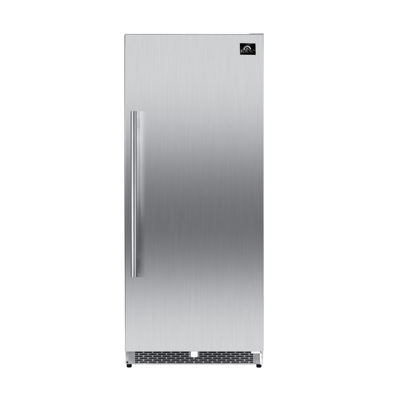 "30"" Cologne Pro-Style Stainless Steel Column Fridge By Forno - Ace home goods"