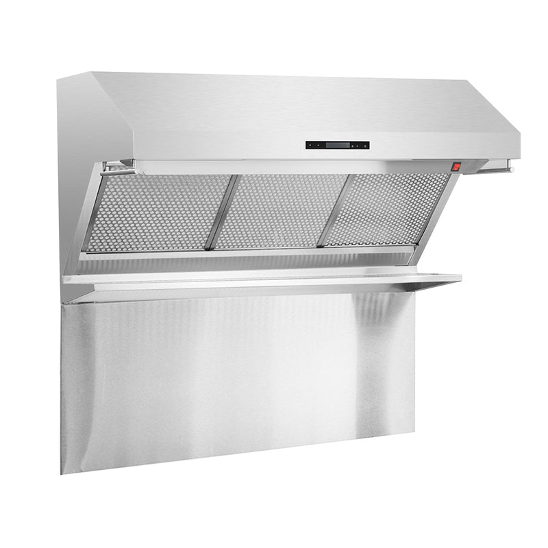 "Savona - 48"" Wall Mount Range Hood & Back Splash By Forno - Ace home goods"