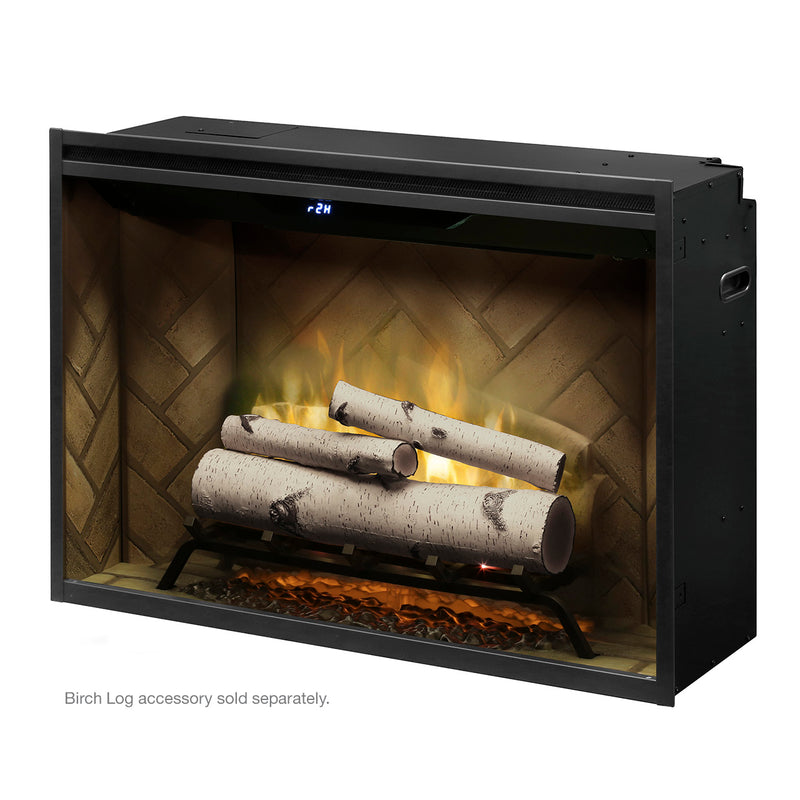 "Revillusion® 36"" Built-in Firebox By Dimplex - Ace home goods"