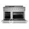 "48"" Dual Fuel Range & Under Cabinet Hood Bundle, Stainless Steel By NXR - Ace home goods"