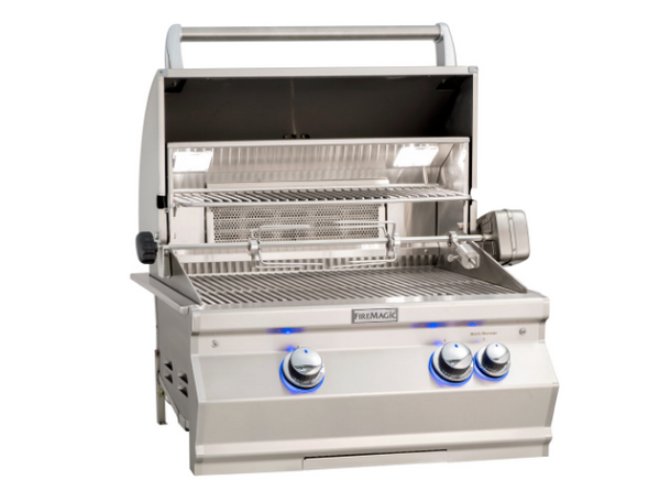 AURORA (A430I) BUILT-IN GRILL W/ Analog Thermometer shown By Fire Magic Grills - Ace home goods