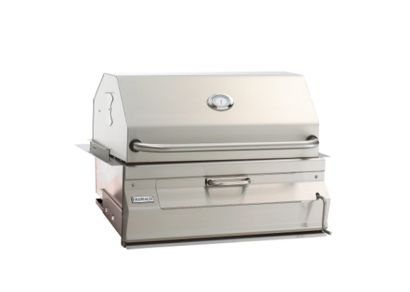 24″ BUILT-IN CHARCOAL GRILL By Fire Magic Grills - Ace home goods