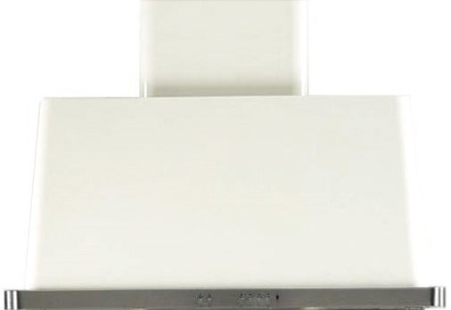 36 Inch White Wall Mount Convertible Hood By ILVE - Ace home goods