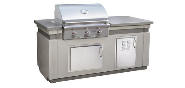 "30"" T-SERIES ISLAND BUNDLE By American Outdoor Grill - Ace home goods"