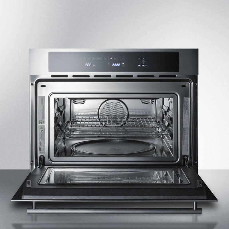 "24"" Wide Electric Speed Oven By Summit - Ace home goods"