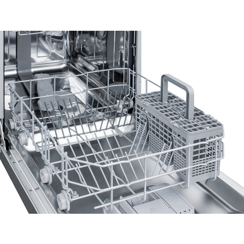 "18"" Wide Built-In Dishwasher By Summit - Ace home goods"