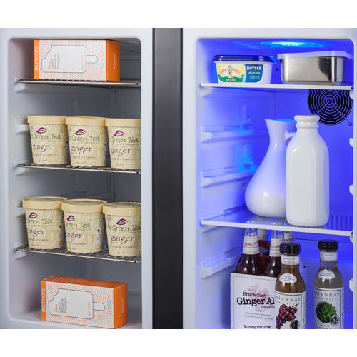 "36"" Wide Built-In Refrigerator-Freezer, ADA Compliant By Summit - Ace home goods"