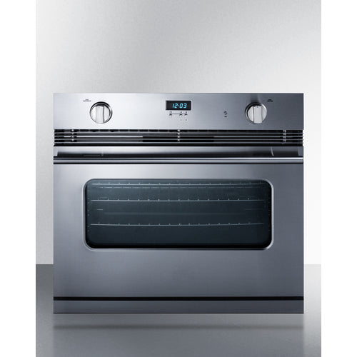 "30"" Wide Gas Wall Oven By Summit - Ace home goods"