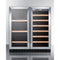 "30"" Wide Built-In Wine/Beverage Center By Summit - Ace home goods"