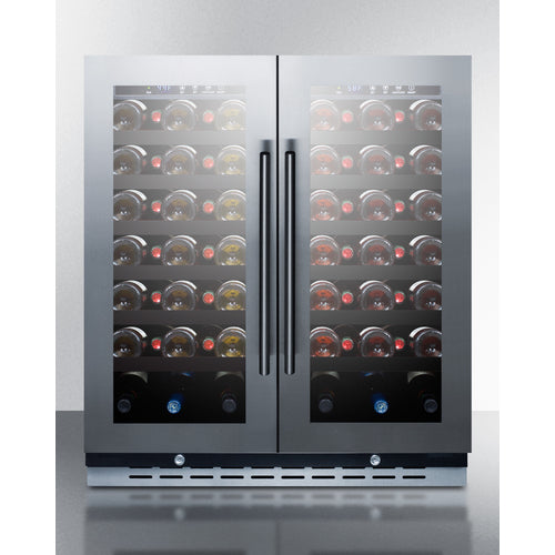 "30"" Wide Built-In Wine Cellar By Summit - Ace home goods"