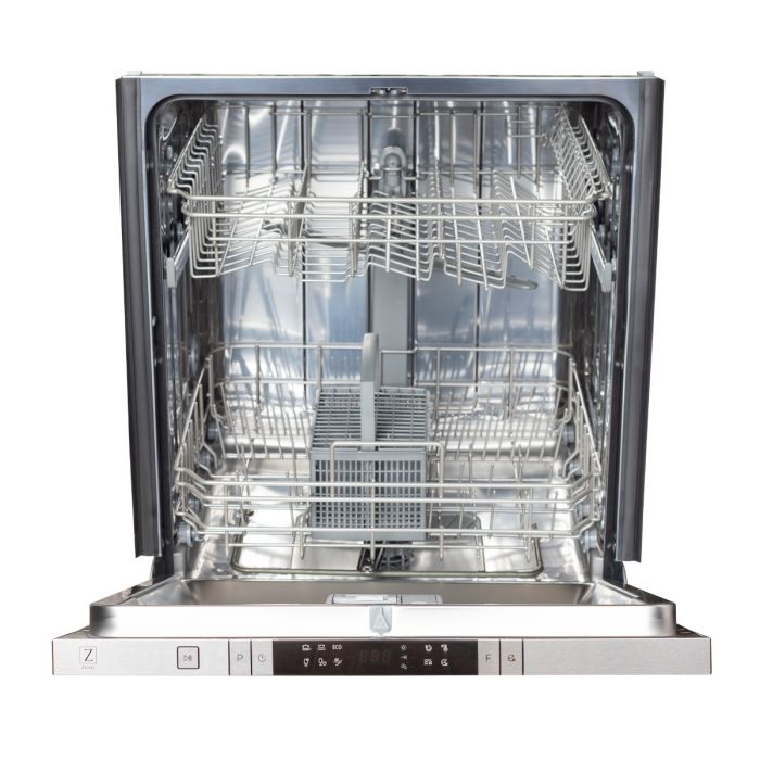 24 IN. TOP CONTROL DISHWASHER IN BLUE GLOSS WITH STAINLESS STEEL TUB AND MODERN STYLE HANDLE By Zline - Ace home goods