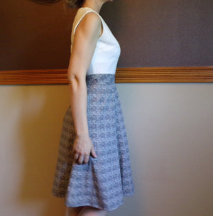 SLEEVELESS 60s 70s DRESS wear to work S (A5)
