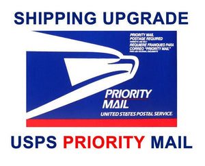 PRIORITY SHIPPING UPGRADE for u.s. addresses only