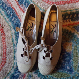 1930's style ROS HOMMERSON SHOES 6.5 80's (F4)