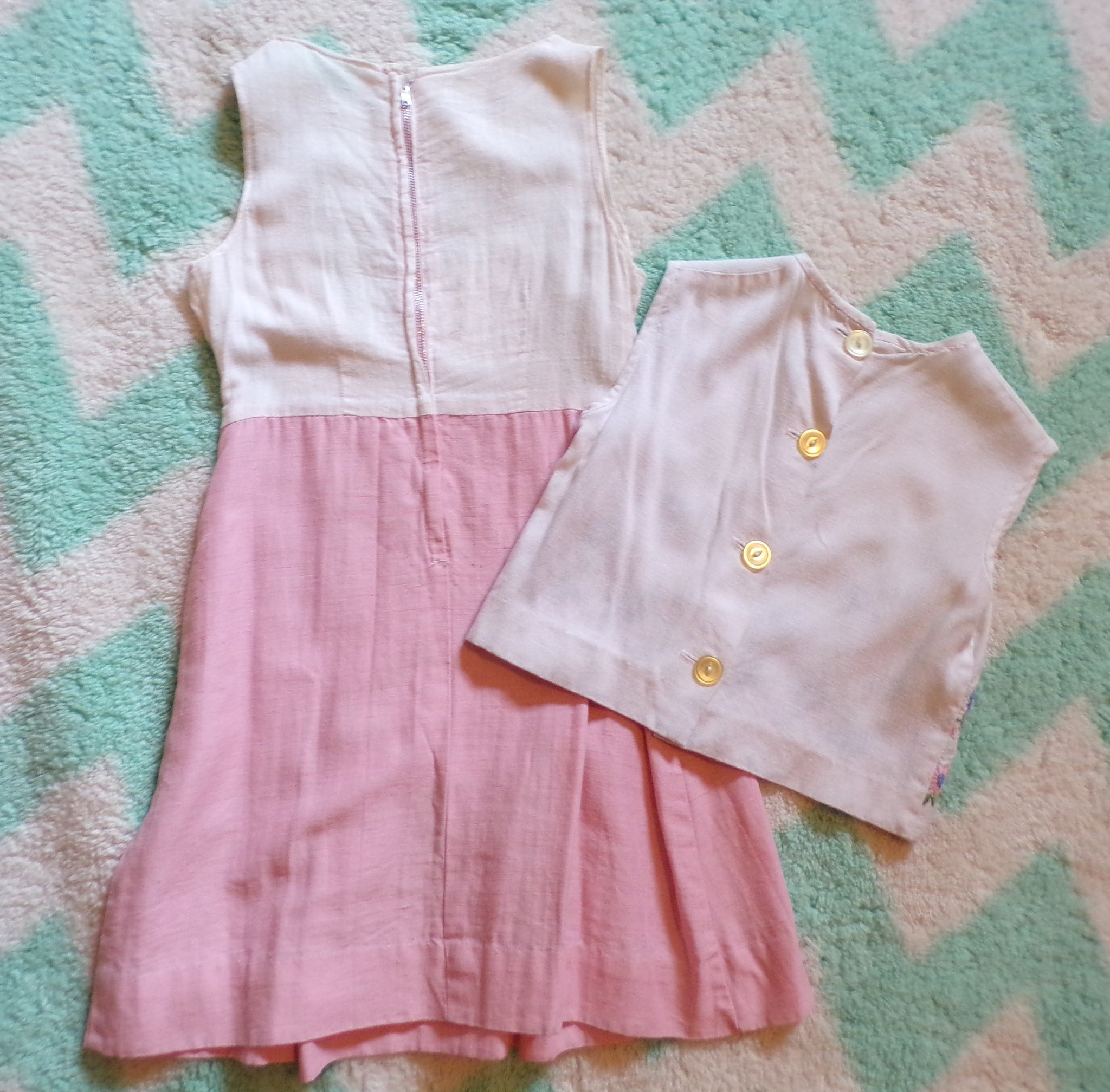 LITTLE GIRLS spring summer DRESS and jacket set