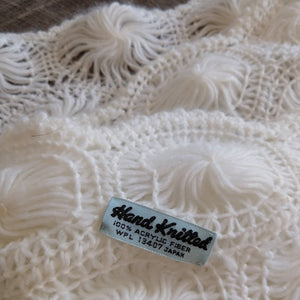 SUPER SOFT WRAP knit shawl Japan acrylic (K6)